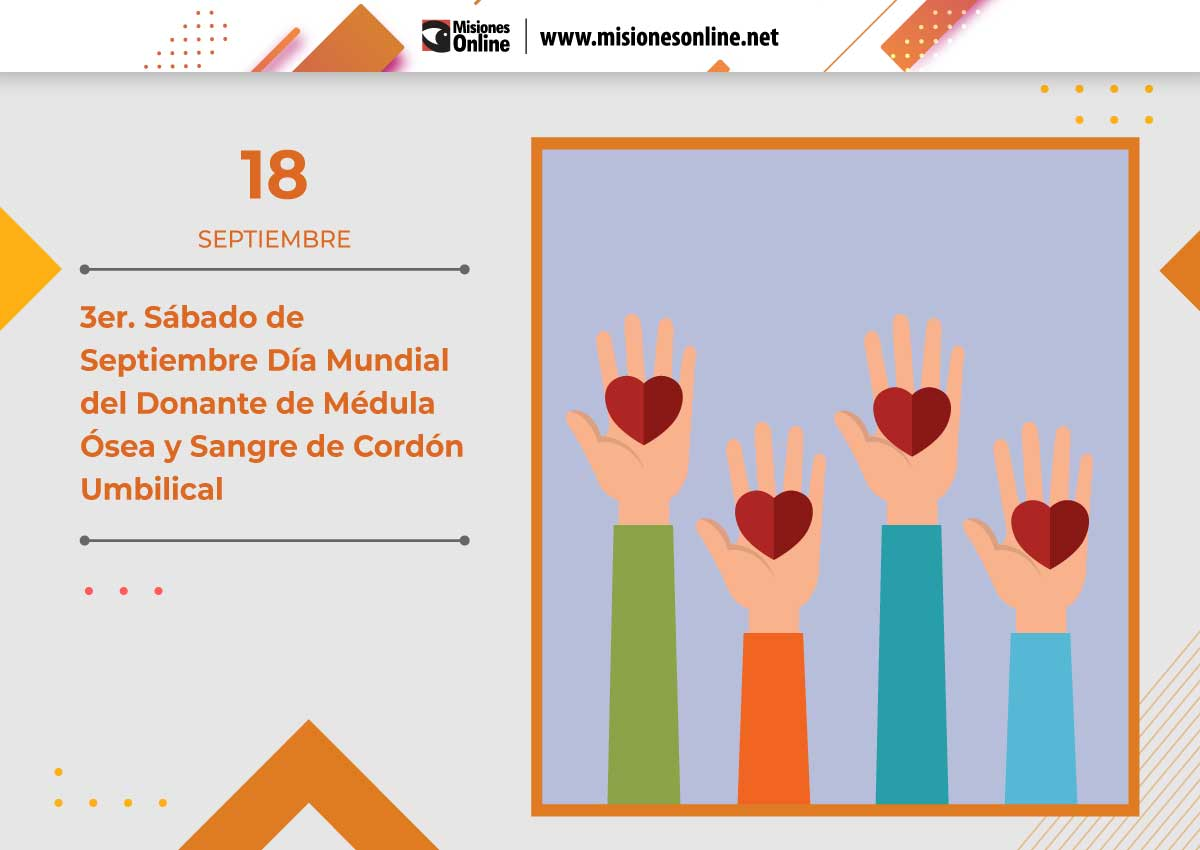Día Mundial del Donante de Médula Ósea y Sangre de Cordón Umbilical