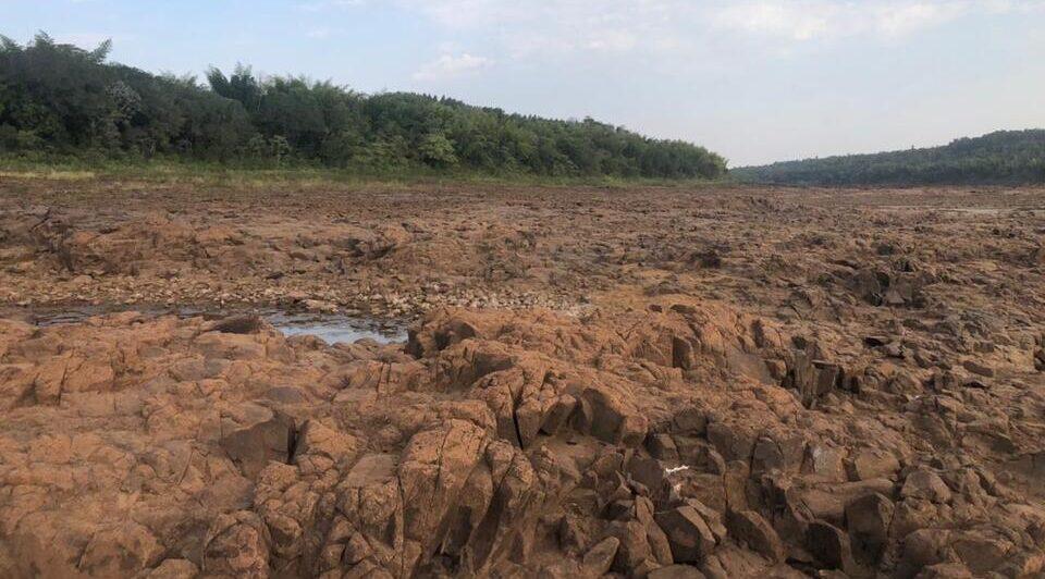 El Instituto Nacional del Agua emitió 3 escenarios alternativos de la bajante del río Paraná