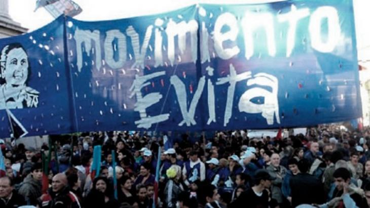 movilización en apoyo al Gobierno Nacional