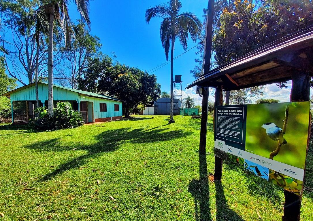 Postulate para el voluntariado de Aves Argentinas en el corredor de la Península de Andresito