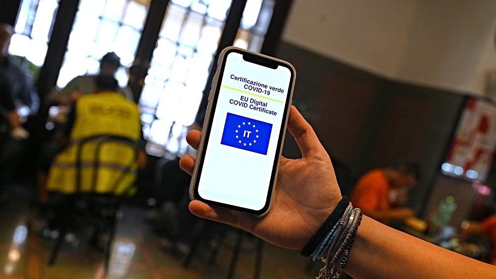 Italia exigirá el pasaporte sanitario