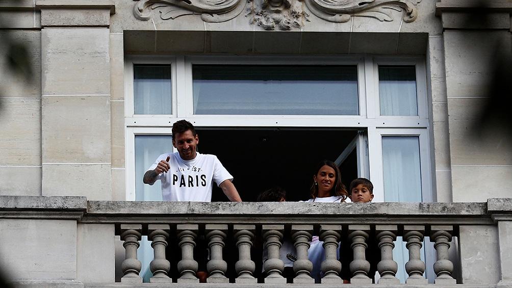 nueva casa de Messi en Paris