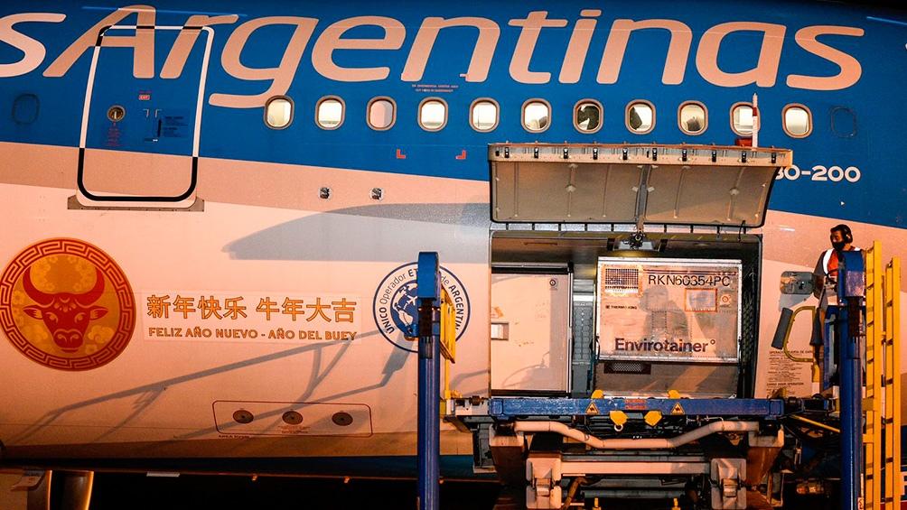 Argentina superó los 57 millones de dosis de vacunas recibidas