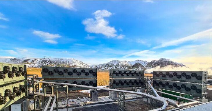Islandia inaugura la mayor planta de absorción de dióxido carbono del mundo