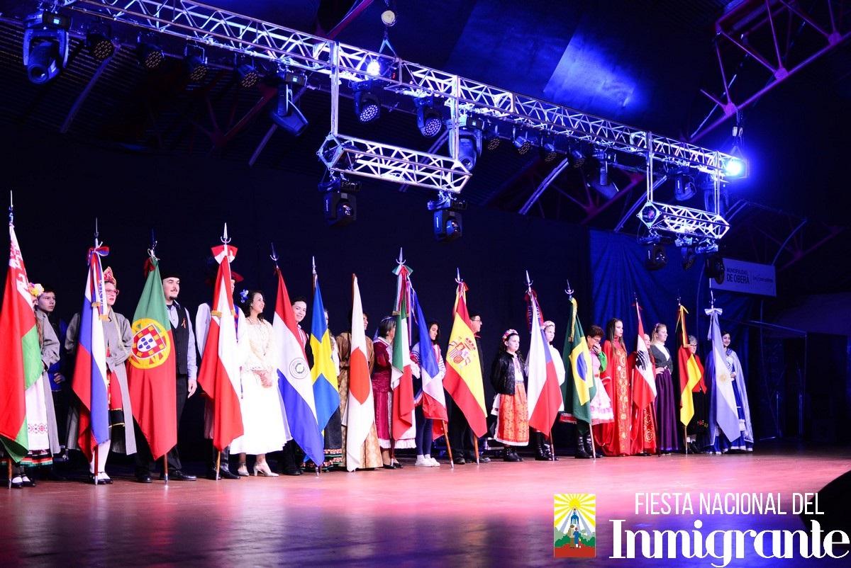 Oberá se prepara para la Fiesta Nacional del Inmigrante