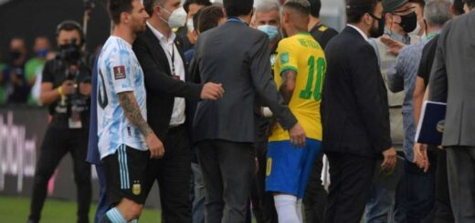 partido suspendido ante Brasil