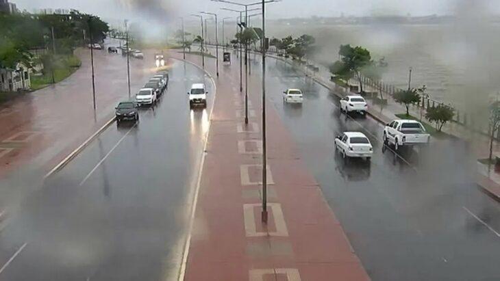 Pronóstico para Misiones   Advertencia Amarilla para mañana por tormentas y lluvias intensas