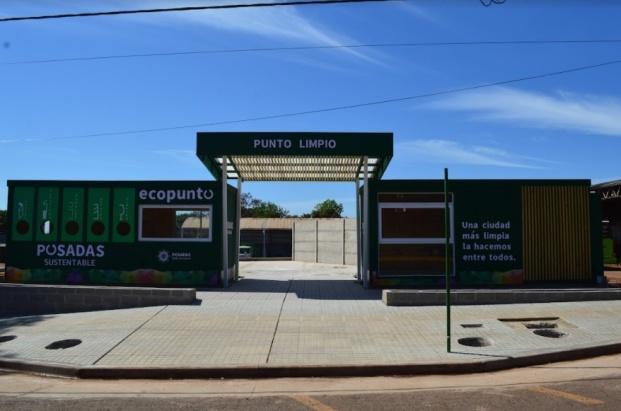 Posadas   Inaugurarán un Ecopunto y un Punto Limpio en la intersección de las Avenidas San Martín y Urquiza