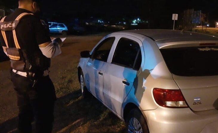 Aristóbulo del Valle: la policía incautó un auto robado en Buenos Aires