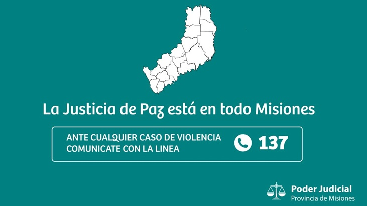 La Justicia de Paz está en todo Misiones