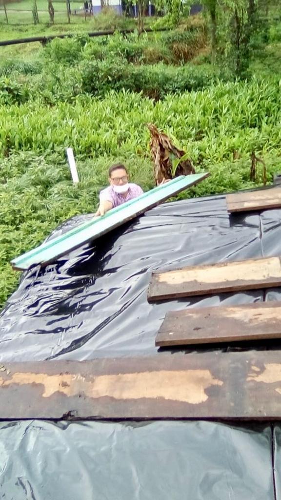 familias afectadas por el temporal