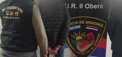 detenidos en oberá