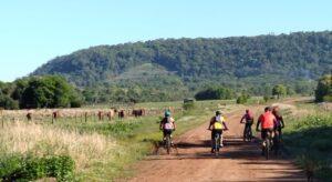 Running y ciclismo: cada vez más misioneros lo practican y disfrutan de los paisajes de Misiones