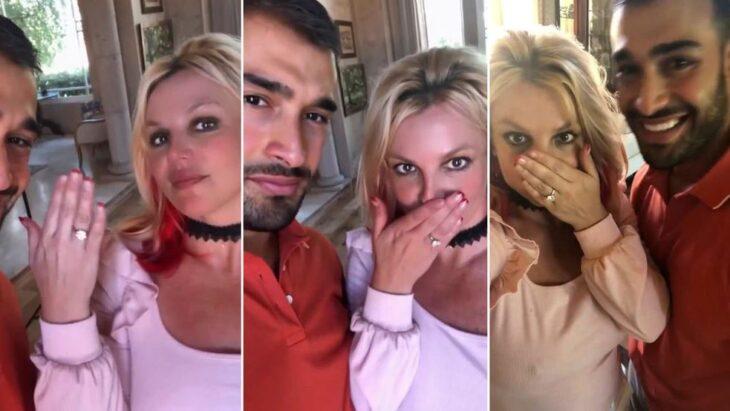 Britney Spears se compromete con su novio, Sam Asghari, tras cinco años de relación