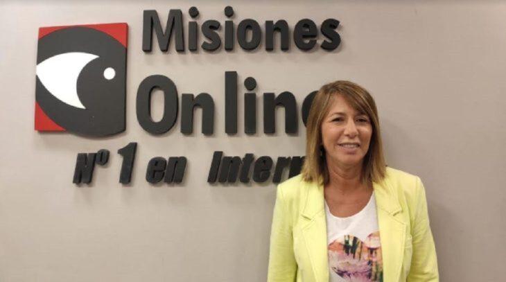 """Elecciones 2021: """"Vamos a seguir planteando que lo nuestro está por sobre la grieta"""", aseguró Claudia Gauto, candidata a diputada por el Frente Renovador"""