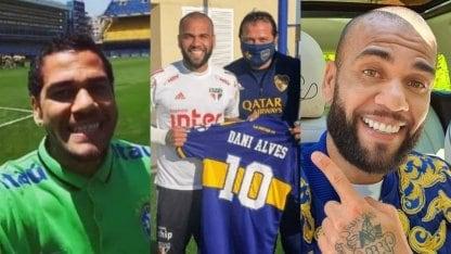 Dani Alves a Boca