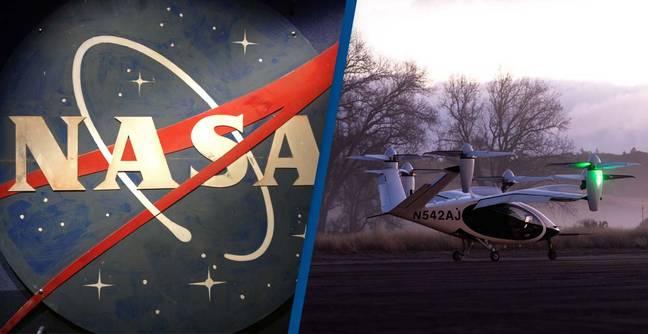 NASA comenzó pruebas de taxis aéreos