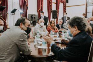 """Canciller paraguayo se reunió con Herrera Ahuad en Posadas y adelantó que su gobierno, """"solicitará a Alberto Fernández, la apertura del puente Posadas-Encarnación"""""""