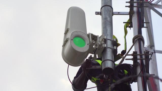 Google logra enviar banda ancha