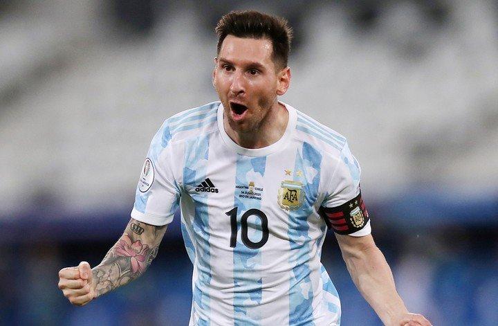 Messi rompió el silencio