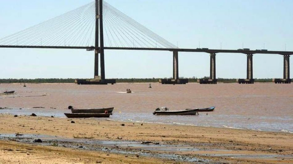 río Paraná creció