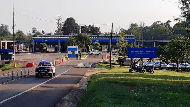 puente entre Puerto Iguazú y Foz de Iguazú