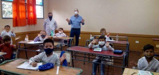 vuelven las clases presenciales en las escuelas de Misiones