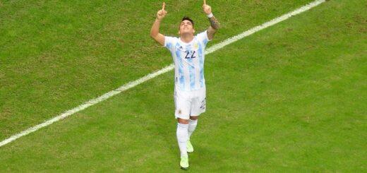 Después del título de la Copa América, Argentina venció a Venezuela por las Eliminatorias camino al Mundial