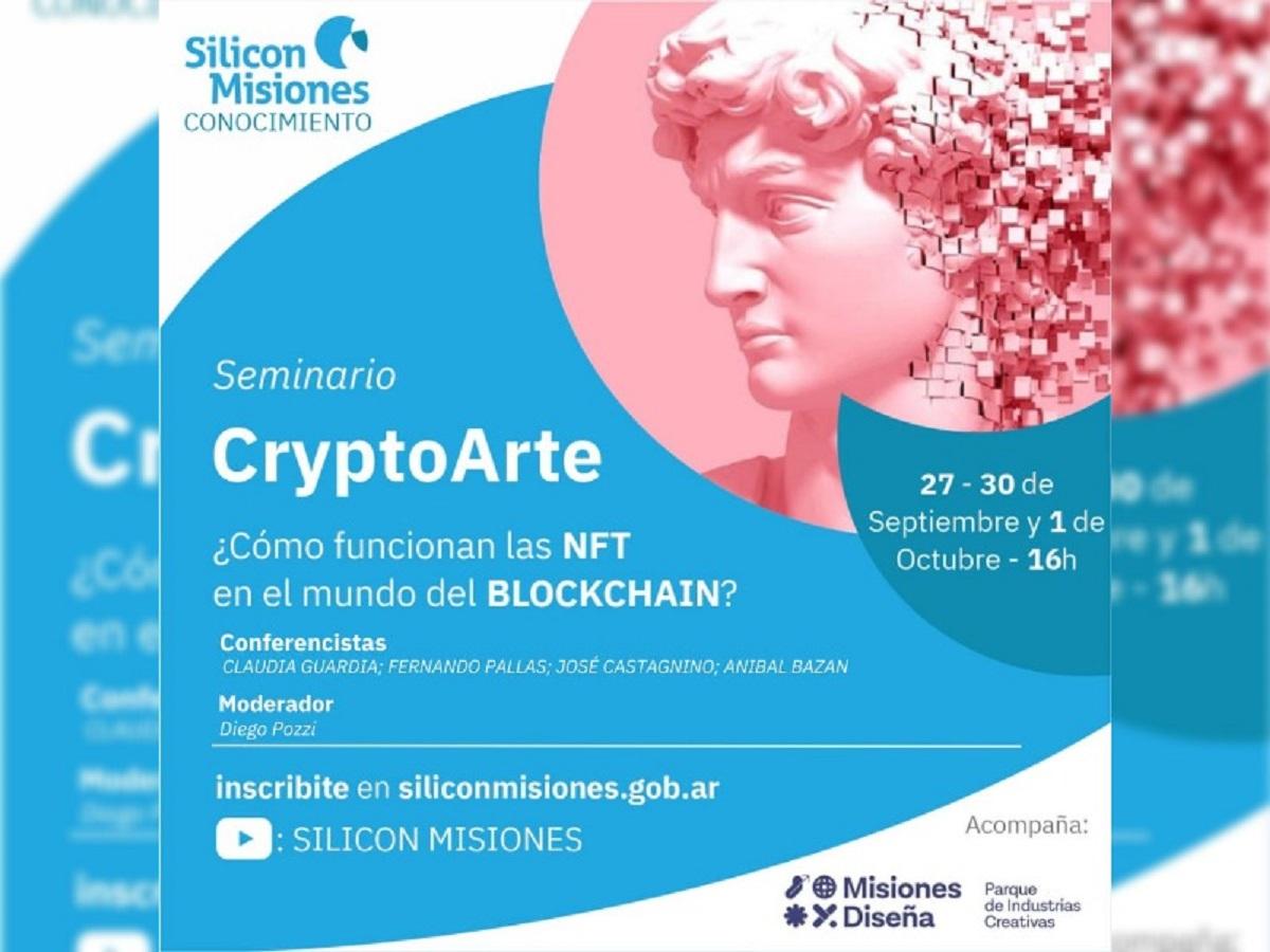 seminario sobre CryptoArte