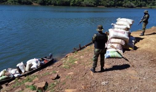 Prefectura secuestró 5 toneladas de granos de soja