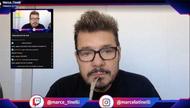Marcelo Tinelli se sumó a Twitch y opinó sobre Coscu e Ibai Llanos