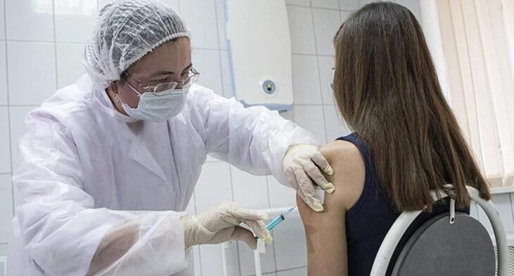 personas vacunadas en el exterior
