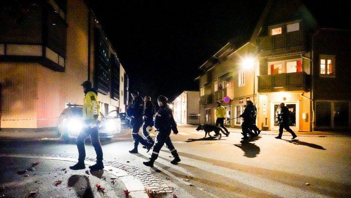 ataque con arco y flechas en Noruega