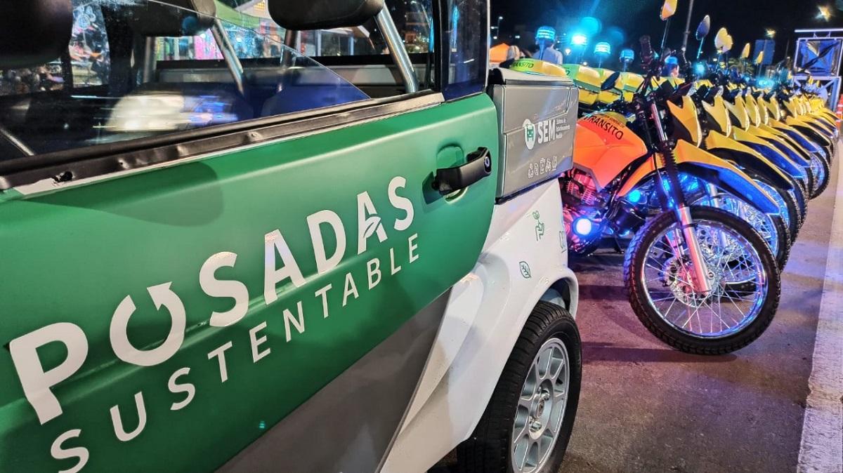 25 motos incorporadas por la Dirección General de tránsito