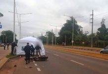 falleció un motociclista en Posadas