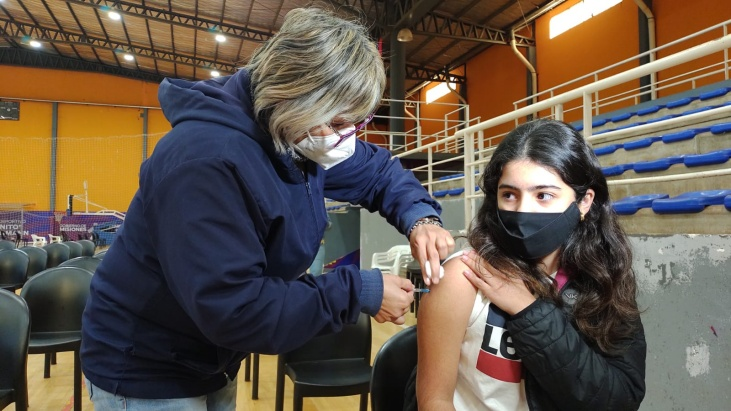 vacunación a niños de 3 a 11 años