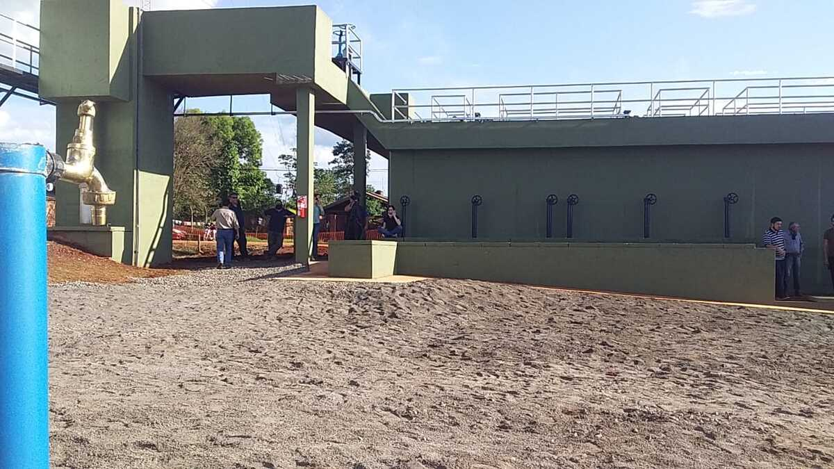 planta potabilizadora de agua en Puerto Iguazú