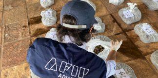 secuestraron 43 kilos de cogollo de marihuana
