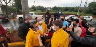 delegación de Vialidad provincial en Iguazú