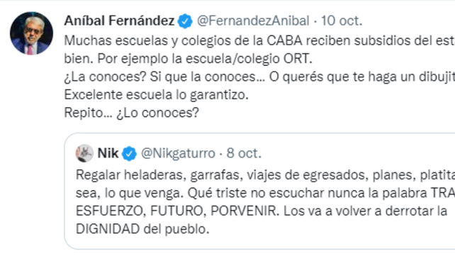 Anibal Fernández
