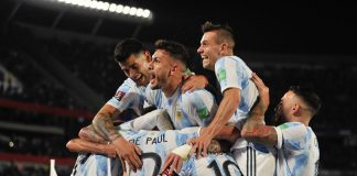 Argentina recibe a Perú