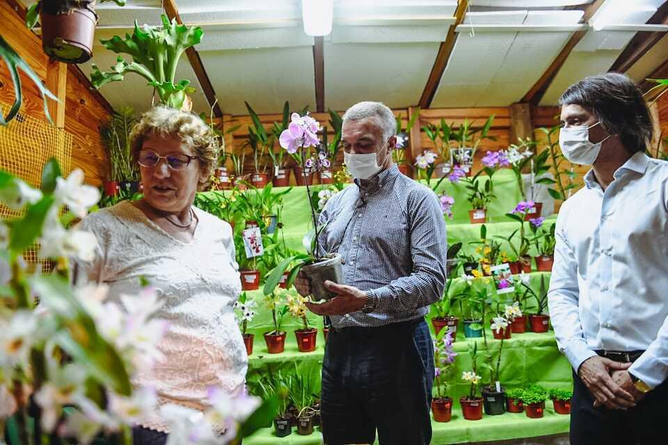 Tras dos años, Montecarlo vive la Fiesta Nacional de la Orquídea y Provincial de la Flor