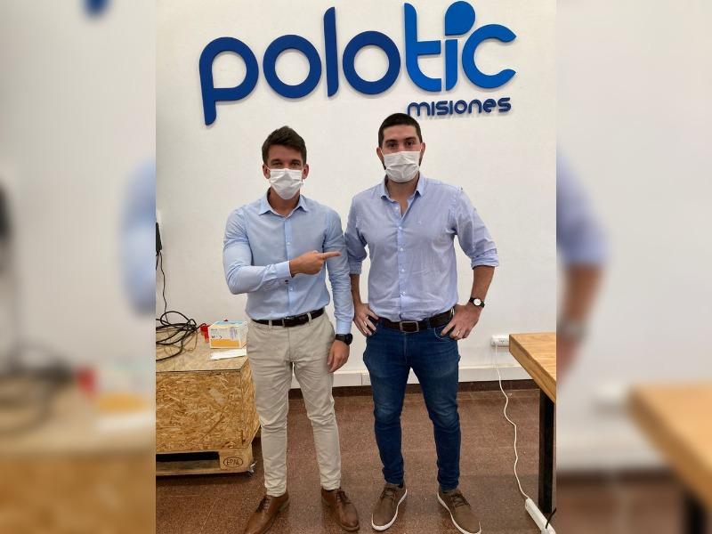 nuevo coordinador del Polo Tic