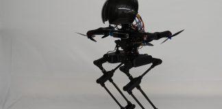 robot que combina la caminata con el vuelo