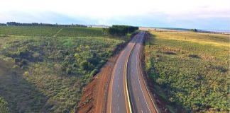 autovía en la ruta nacional 105