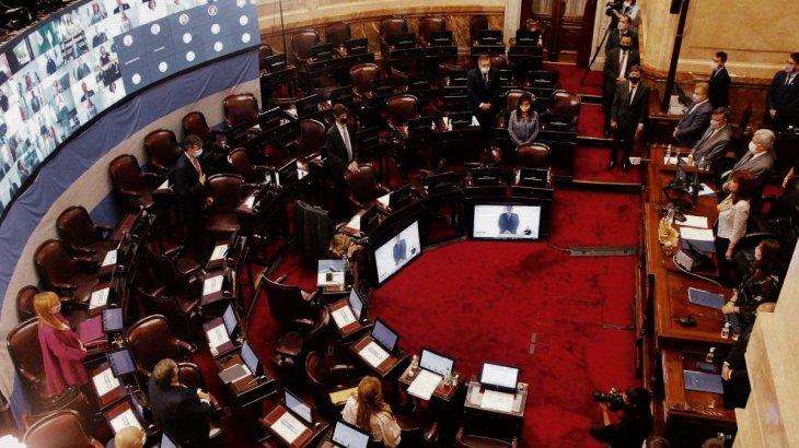 el Senado vuelve a la presencialidad