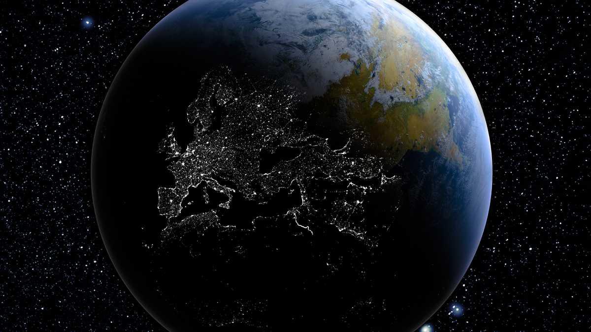 la Tierra se está oscureciendo