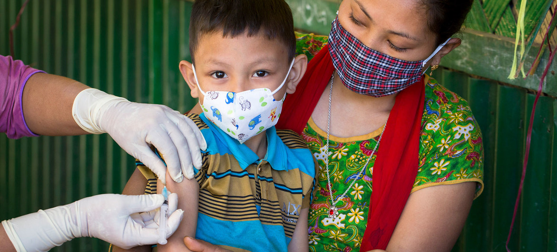 vacunación a menores