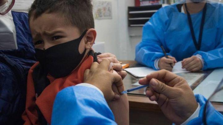 vacunación de menores de 12 años